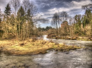 Tumwater Falls Park and the old Brew House