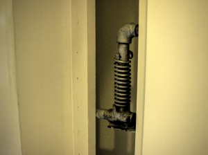 Pittock Mansion Refrigerated Room Hinge