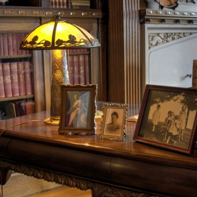 Pittock Mansion Library Desk