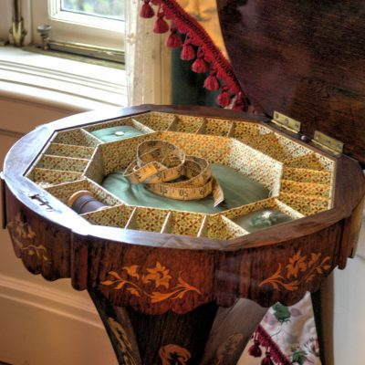 Pittock Mansion Sewing caddy