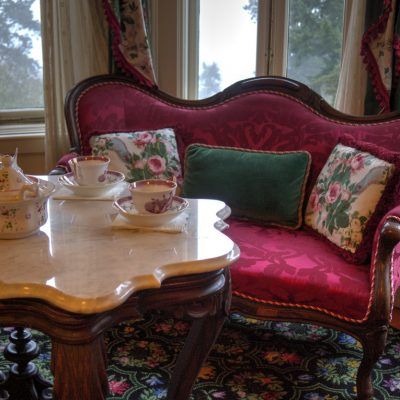 Pittock Mansion Tea Time