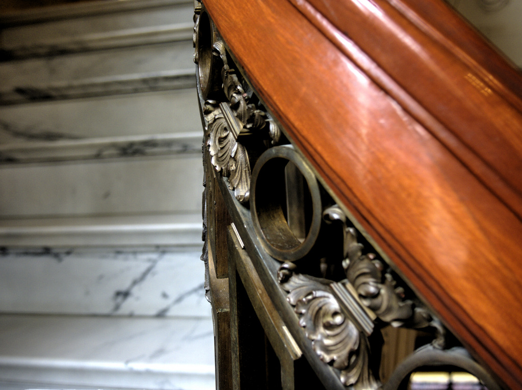 Pittock Mansion Stair Rail