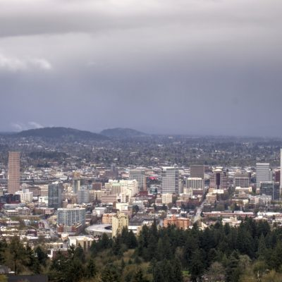 Portland from Pittock Mansion