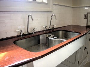 Pittock Mansion Kitchen Sink