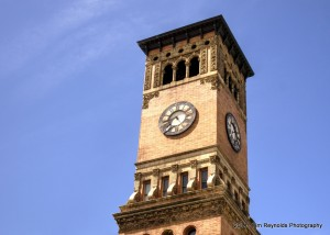 Old Tacoma City Hall Clock Tower