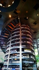 Tower of wine - Purple Cafe and Wine Bar