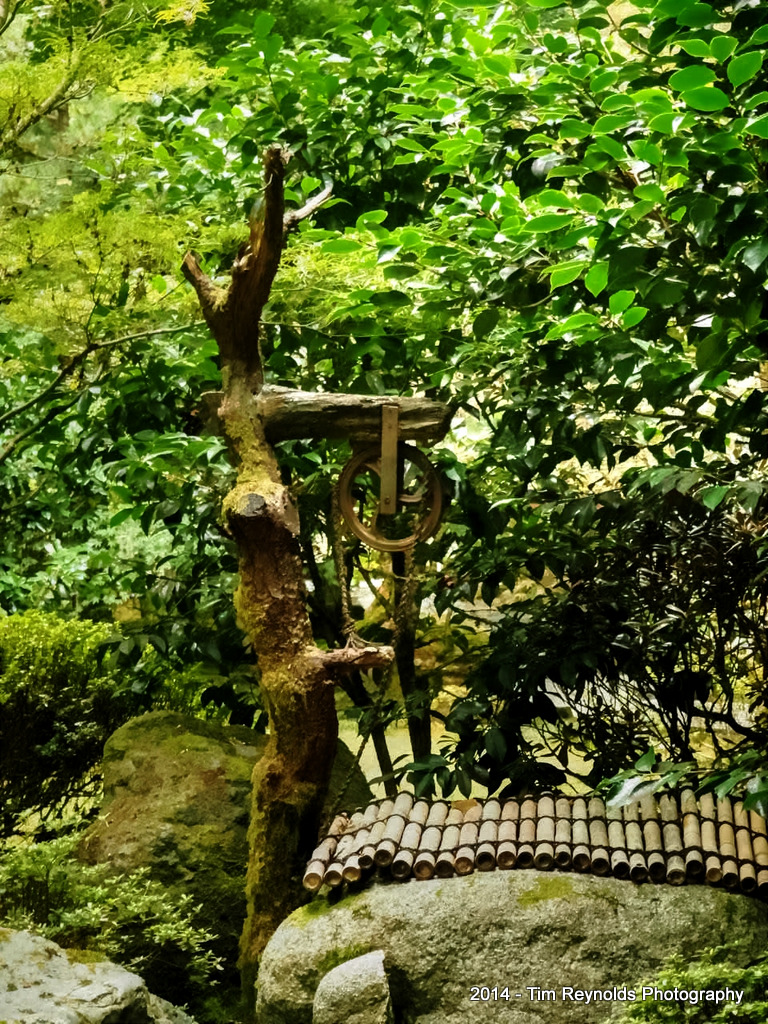 Pulley & Chain - Portland Japanese Gardens