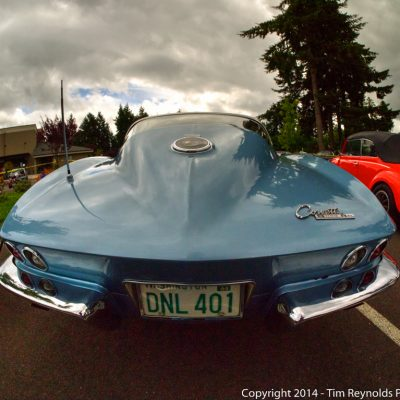 Corvette curves and clouds